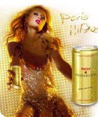 Champagne de Paris Hilton
