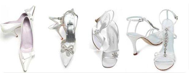 Tipos de zapatos de novia