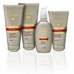Sistema Dove Therapy para reparar los cabellos dañados