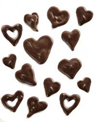 Corazones de Chocolate!!!