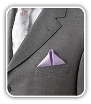 ¿Cómo doblar el pañuelo del novio?