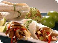 Fajitas Mexicanas en su versión vegetariana