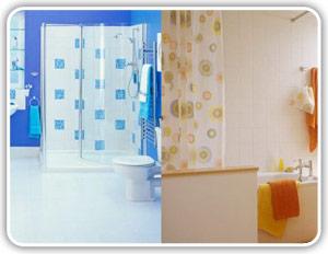 ¿Cortinas de baño o mampara?