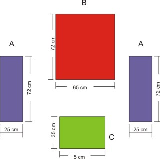medidas carton para maquina dobladora de ropa