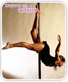 Ejercicios para divertirse: pole dance o baile del caño