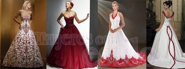 Sonar con ver vestido de novia rojo
