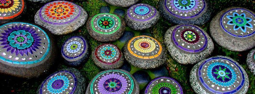 mosaico de Clare Dohna