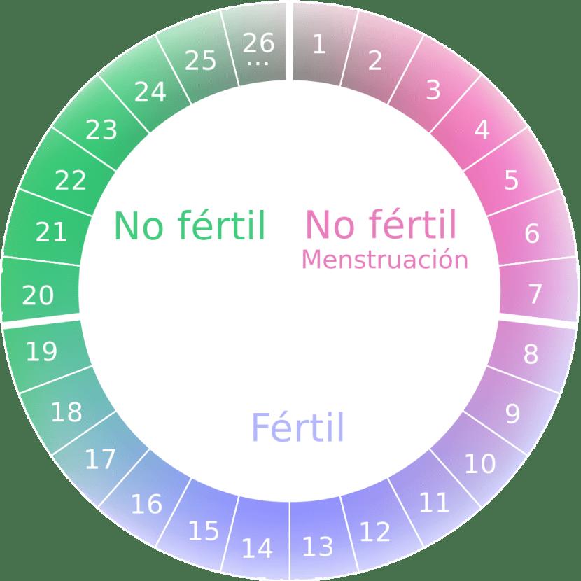Como saber cuales son mis dias fertiles si no menstruo