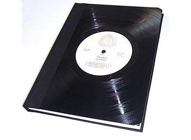 carpeta vinilo Reciclando antiguos discos de vinilos