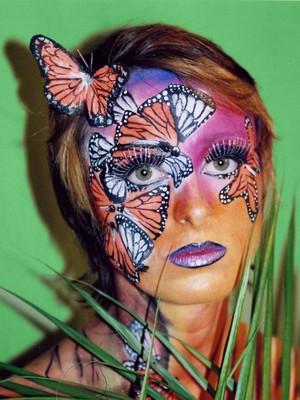 Body painting en la cara