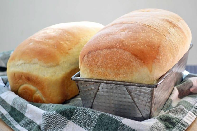 Pan de molde casero al microondas