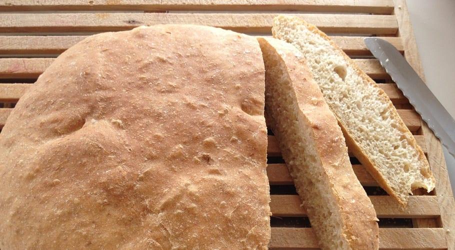 Pan casero al microondas