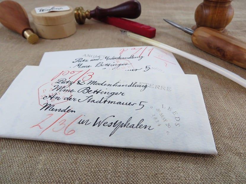 Sobre de cartas original