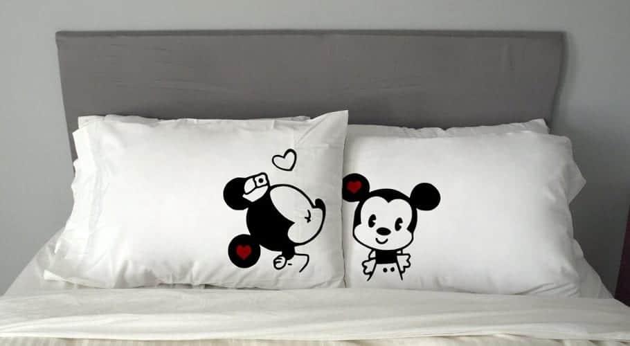 Almohadas para enamorados