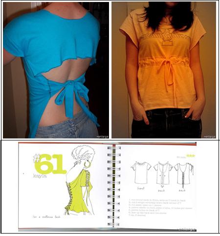 camisetas 1 99 maneras de cortar,coser,adornar y atar tu camiseta