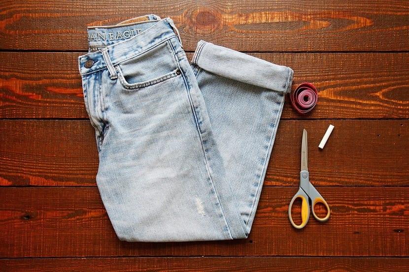 Transformar pantalones en otros