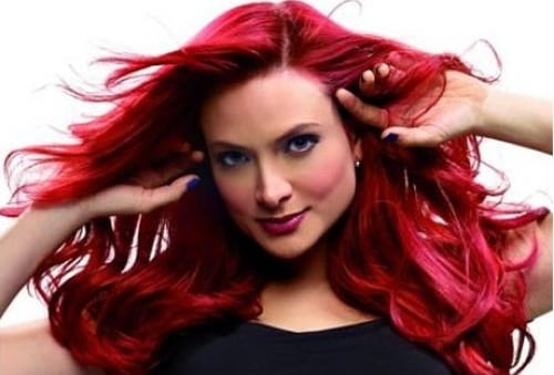Baño Color Rojo Pelo: llevé este tono que era un baño de color encima de un pelirrojo