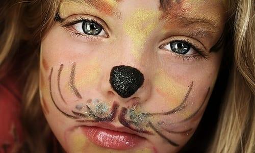 Maquillaje de gatita para halloween