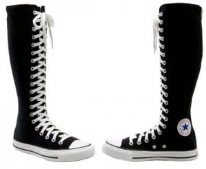 Botas altas Converse