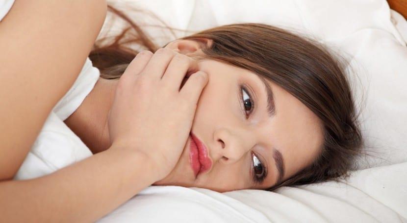 Mujer después de un orgasmo