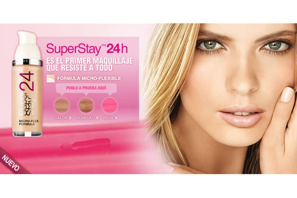 maquillaje superstay maybelline
