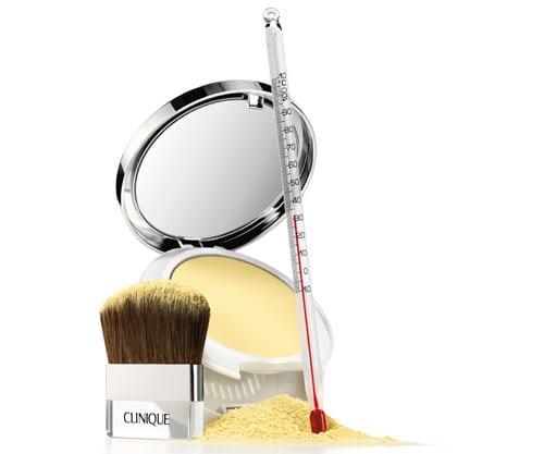 Polvos minerales compactos de Clinique para pieles con problemas de enrojecimiento