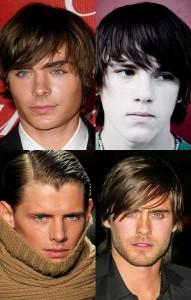 Distintos peinados para hombres