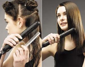 Alisar el cabello como un profesional