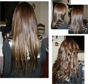 preparar el cabello para colocar extensiones