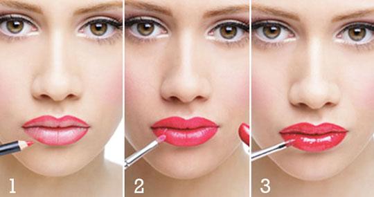 como lograr con tu maquillaje labios irresistibles