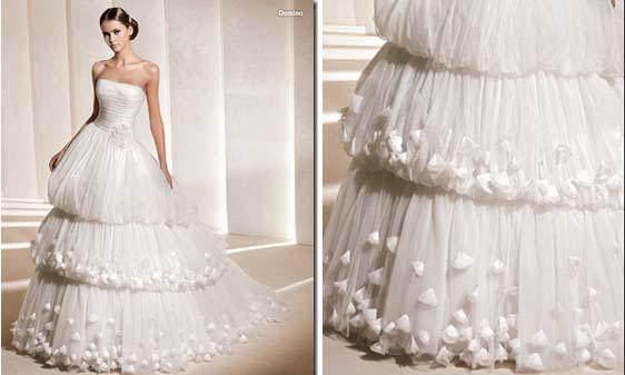 Vestido de novia Domino