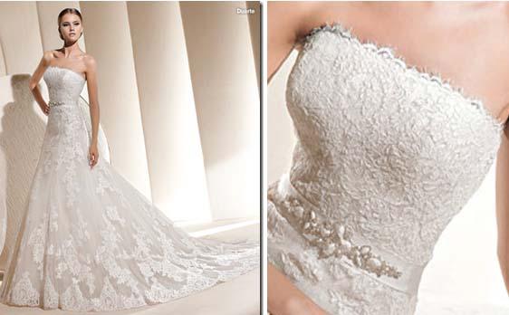 Vestido de novia Duarte, colección La Sposa 2011