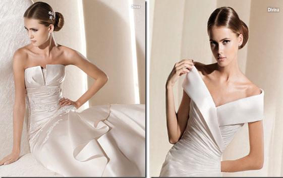 Diosa y Divina modelos La Sposa 2011