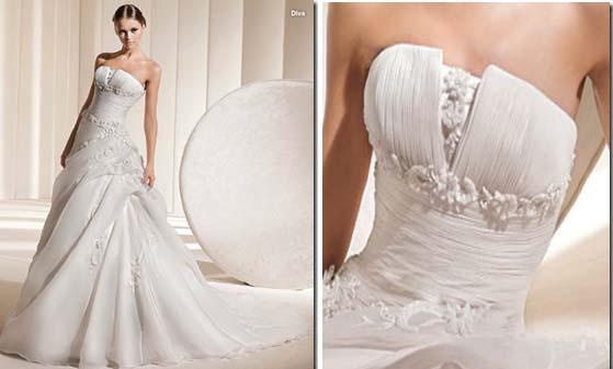 Vestido de novia Diva La Sposa 2011