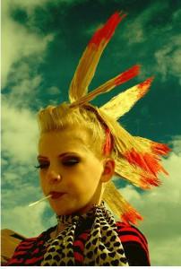 Peinado indio