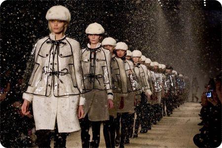 Desfile de Burberry