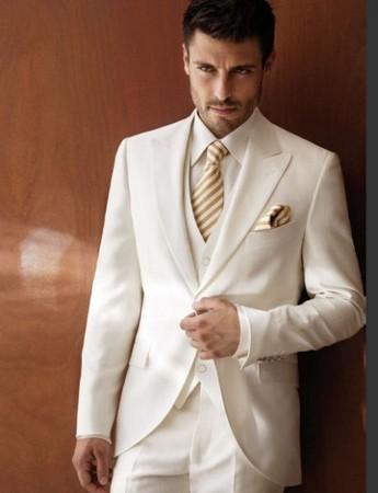 traje de lino para boda