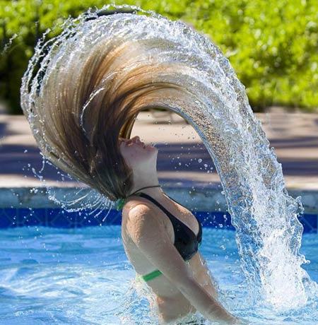 Consejos para reparar el cabello dañado por cloro