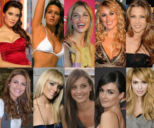 Martina Klein desbanca a Sara Carbonero como guapa oficial