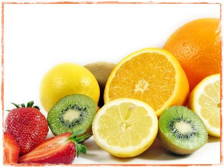 Frutas para el cabello