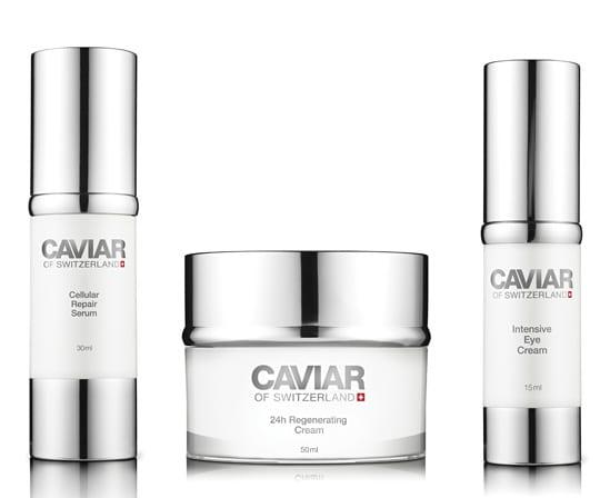 Caviar of Switzerland, el Caviar llega a nuestra piel