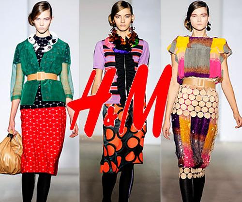 Nueva colección de Marni para H&M