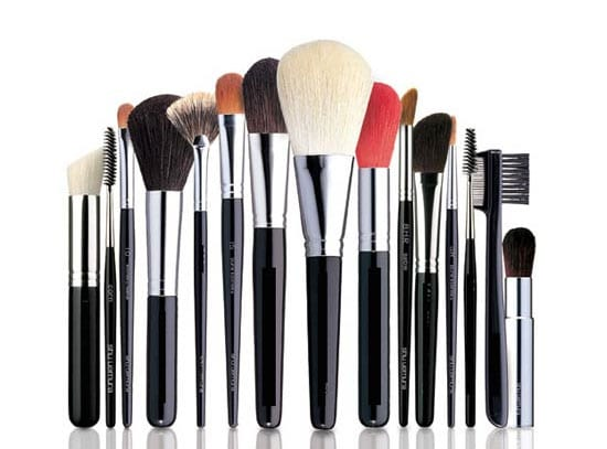 Pinceles y brochas de maquillaje