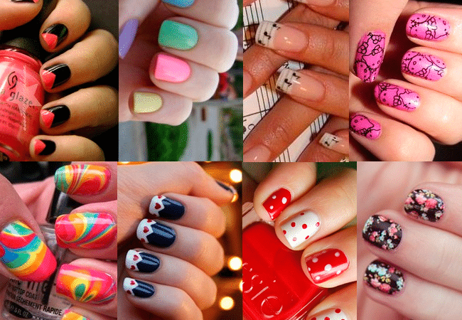 manicuravariada Tendencias manicura verano 2012