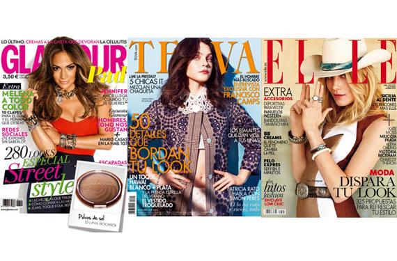 Portadas de las revistas de moda
