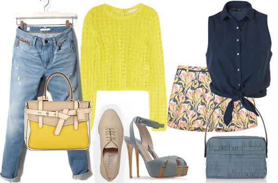 Que colores combinan con el amarillo latest con vestidos - Que colores combinan con el amarillo ...