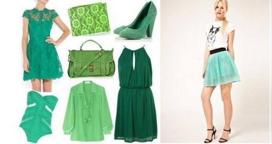 moda verde menta