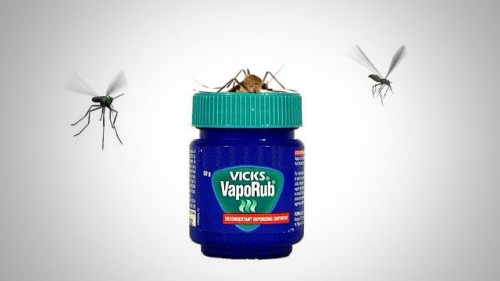 Vicks Vaporub contra los mosquitos