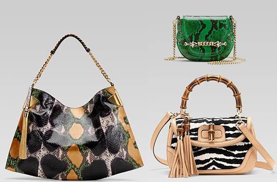 Bolsos Gucci, diseños con print animal