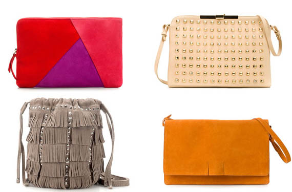 Bolsos de Zara colección primavera/verano 2012